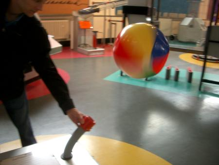 Bernoulli exhibit